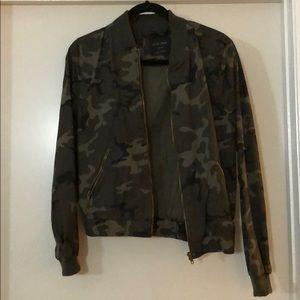 Jackets & Blazers - Camo Bomber